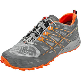The North Face Ultra MT II GTX - Chaussures running Homme - gris/orange